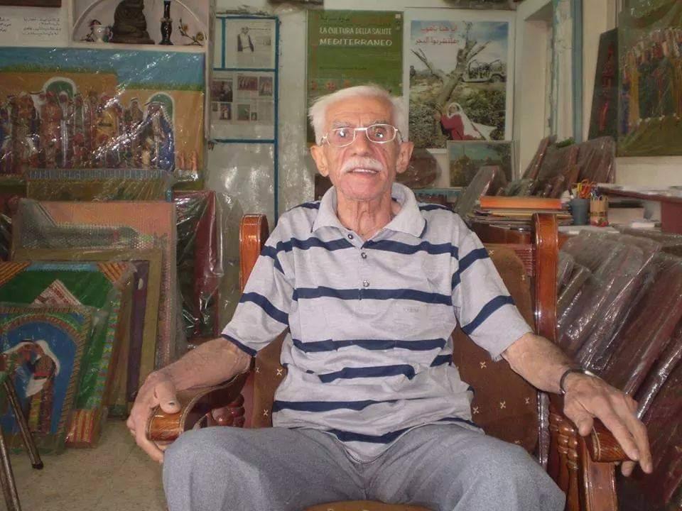 رحيل  الفنان عبدالحَي مسلم ...حارس الذاكرة الفلسطينية