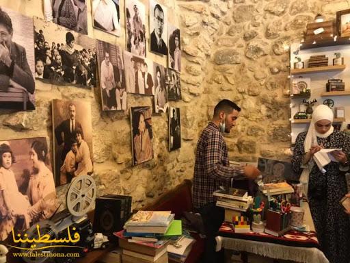 تزامناً مع رحيل محمود درويش.. افتتاح معرض الكتاب السنوي في جنين